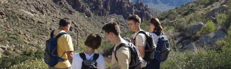 Hiking near Chandler, AZ