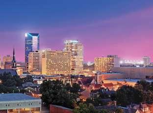 Lexington Skyline at Night