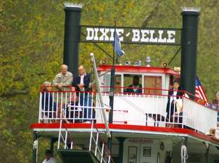 Dixie Belle Paddlewheeler