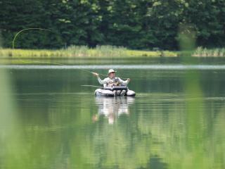 Brenda Schwartz, Fly Fishing, Seven Springs (2)