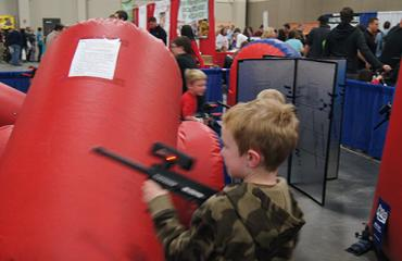 Laser Tag at Mountain America Expo Center