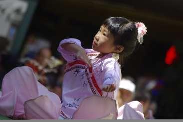 Chinatown Street Festival Dancer
