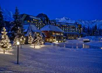 Alyeska Resort in winter