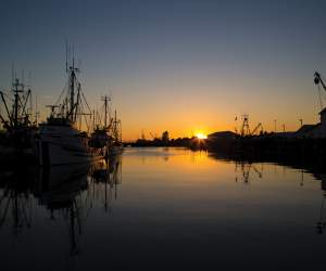 Sunset in Steveston