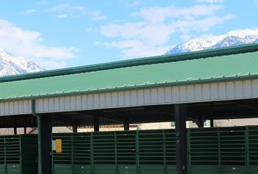 Barns at the Salt Lake County Equestrian Park