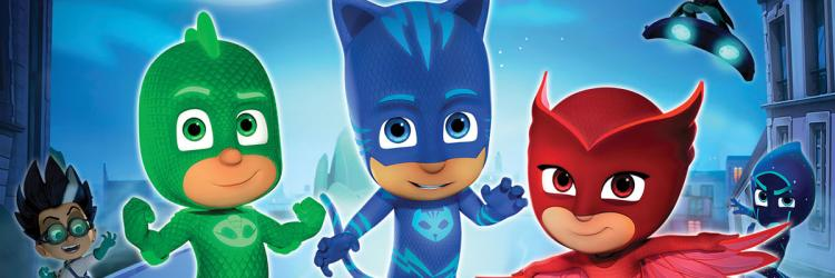 'PJ Masks Live! Time to Be a Hero' is coming to Grand Rapids on September 26