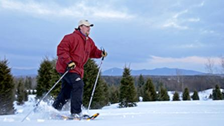 Snowshoeing - Photo by NYS ESD