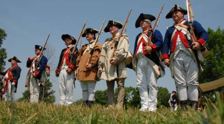 Summer Programming - March Out of the Continental Army