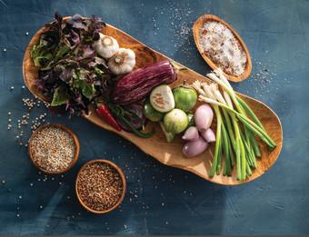 Fresh ingredients for Restaurant Week GR