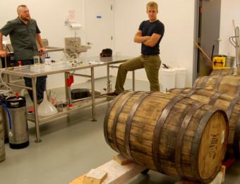 Barrels of Hard Cider