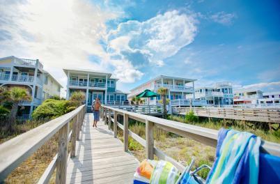 Vacation Rentals - Kure Beach Homes w/ boy