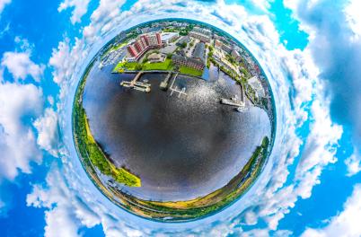 SkyNAV Convention District planet