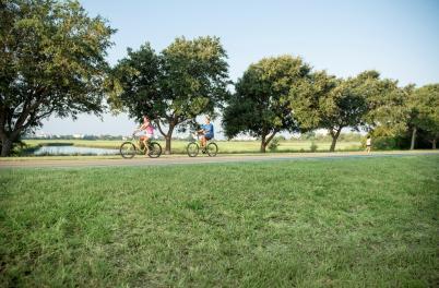 Couples bike ride around the Wrightsville Beach Loop