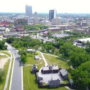 Old Fort Skyline - Fort Wayne, IN