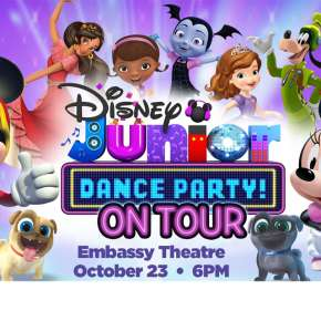 Disney Junior Dance Party Promotional Graphic