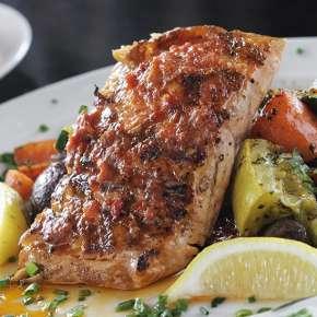 Salmon at Casa Restaurants