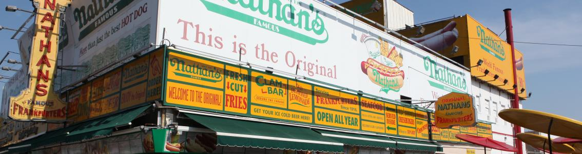 Nathan's, Exterior, Coney Island