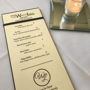 Lunch at The White Linen