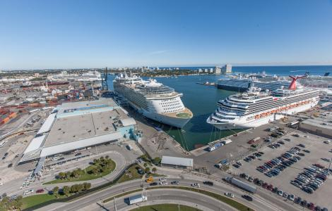 Cruise Terminal 18 and 19