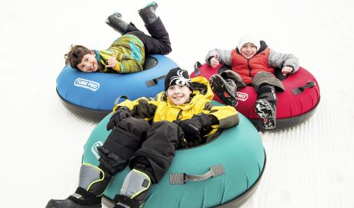Group Snow Tubing