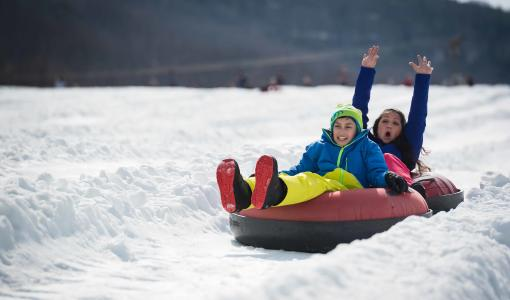 Family Fun Snow Tubing
