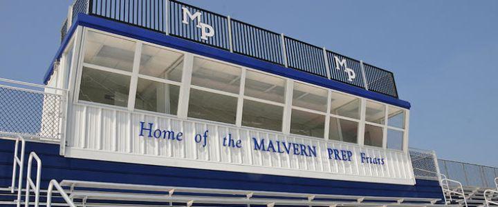 Malvern Prep press box