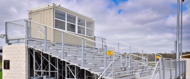 Cameron Independent School District bleachers