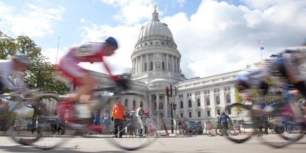 Biking Around the Capitol
