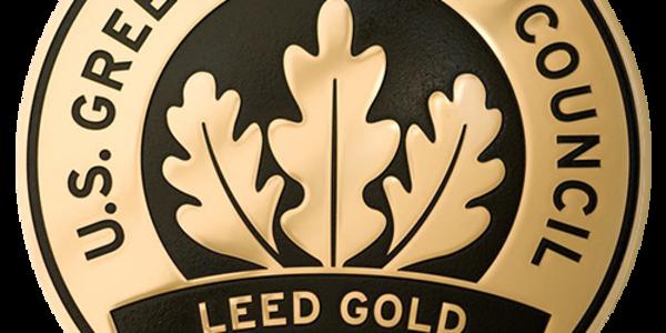 LEED Gold Plaque