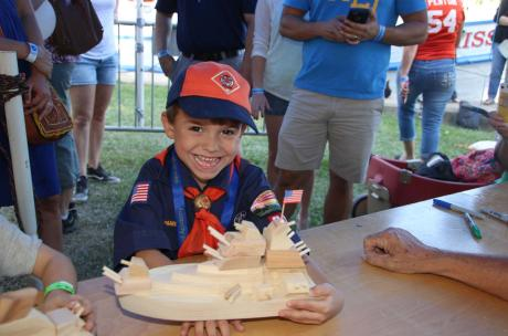 Kids can make their own wooden boat with the St. Tammany woodworkers guild