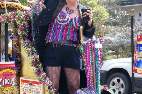 Mardi Gras - Krewe of Push Mow in Abita Springs