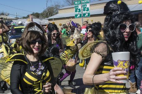 Krewe of Push Mow - Mardi Gras