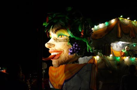 Mardi Gras Float Photo