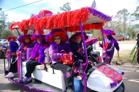 Mardi Gras - The Krewe of Push Mow