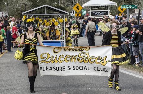 Mardi Gras - Queen Bees Social Club