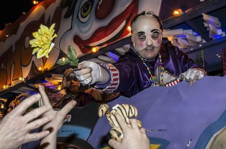Mardi Gras - The Krewe of Olympia in Covington
