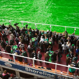 St. Patrick's Day Chicago with Shoreline Sightseeing