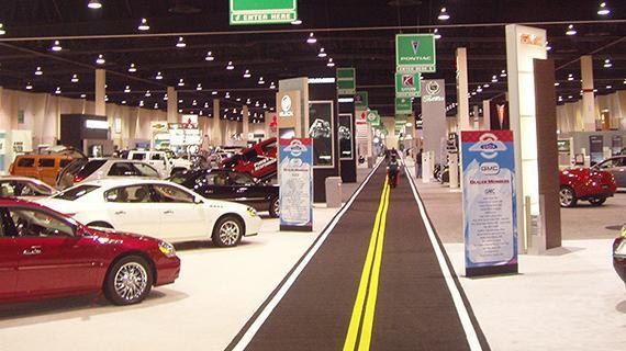 Car Show at the Mountain America Expo Center
