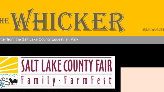 The Whicker Salt Lake County Fair
