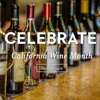 Celebrate California Wine Month