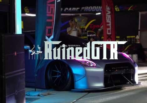 RIX MAGAZINE CAR SHOW. NJ. RUINED GTR