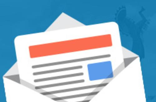 Email signup widget