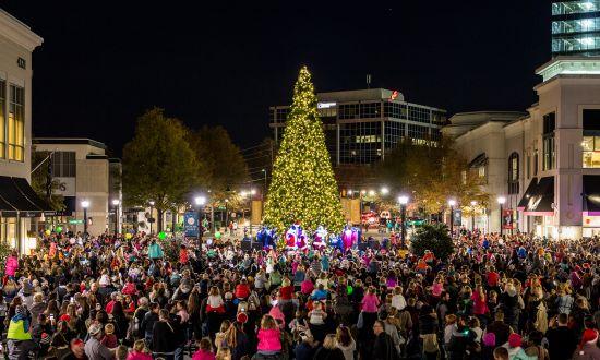 Holiday Favorites: Light Displays and Tree Lightings in Raleigh, N.C.