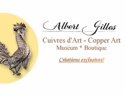 Cuivres d'art Albert Gilles - Studio d'art / musée / boutique