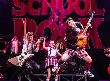 school of rock wharton