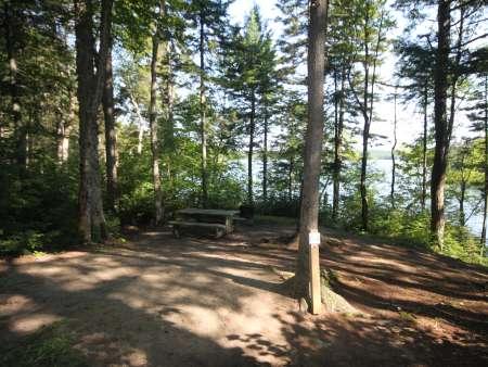 Camping Parc naturel régional de Portneuf