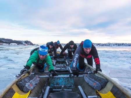 Canot à glace Expérience