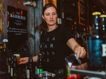 La Barberie, micro-brewery