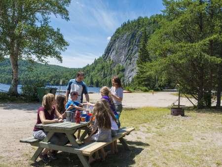 Camping Bellevue - Réserve faunique de Portneuf