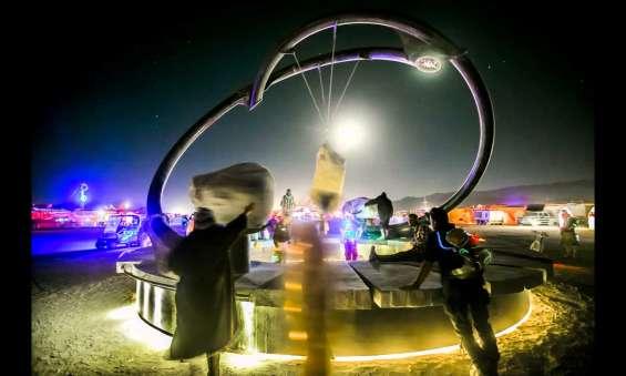 The Universe Revolves Around You, Burning Man 2012